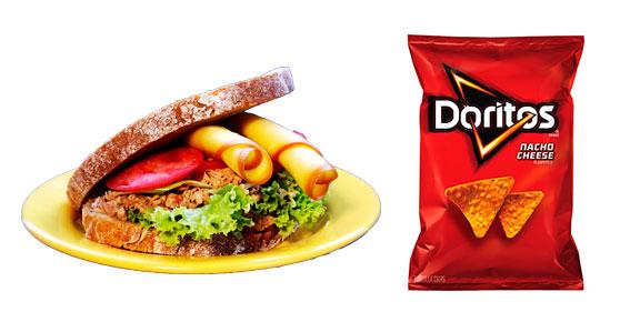 Sanduiche versus doritos